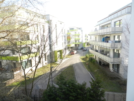 Aussicht vom Wintergarten