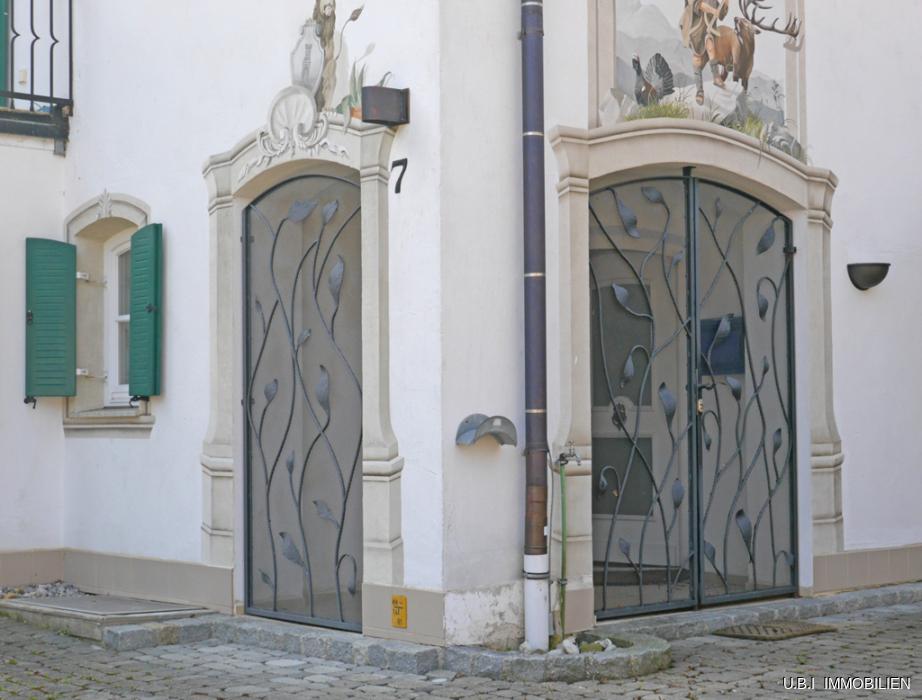 Windfang - Eingang