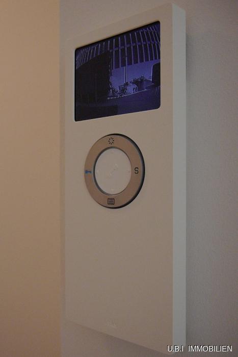 Videoüberwachter Hauszugang
