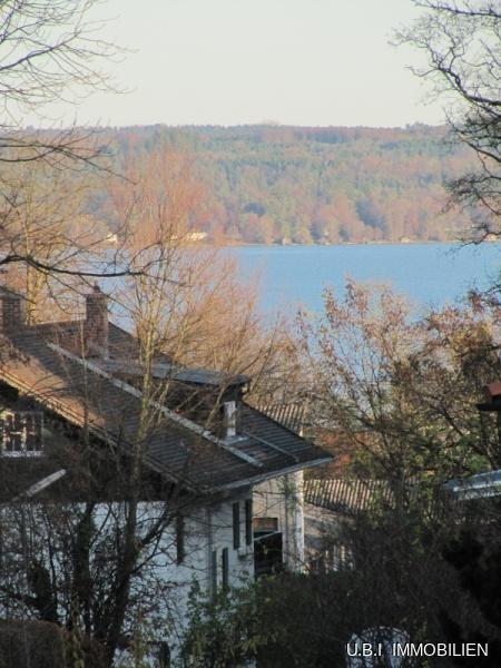 Teilweise Blick zum See aus DG
