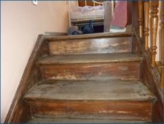 Treppenaufgang Vorderhaus