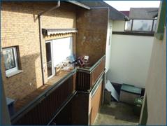 Balkon Hinterhaus