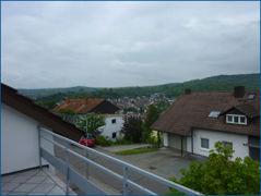 Aussicht vom Süd-/West Balkon