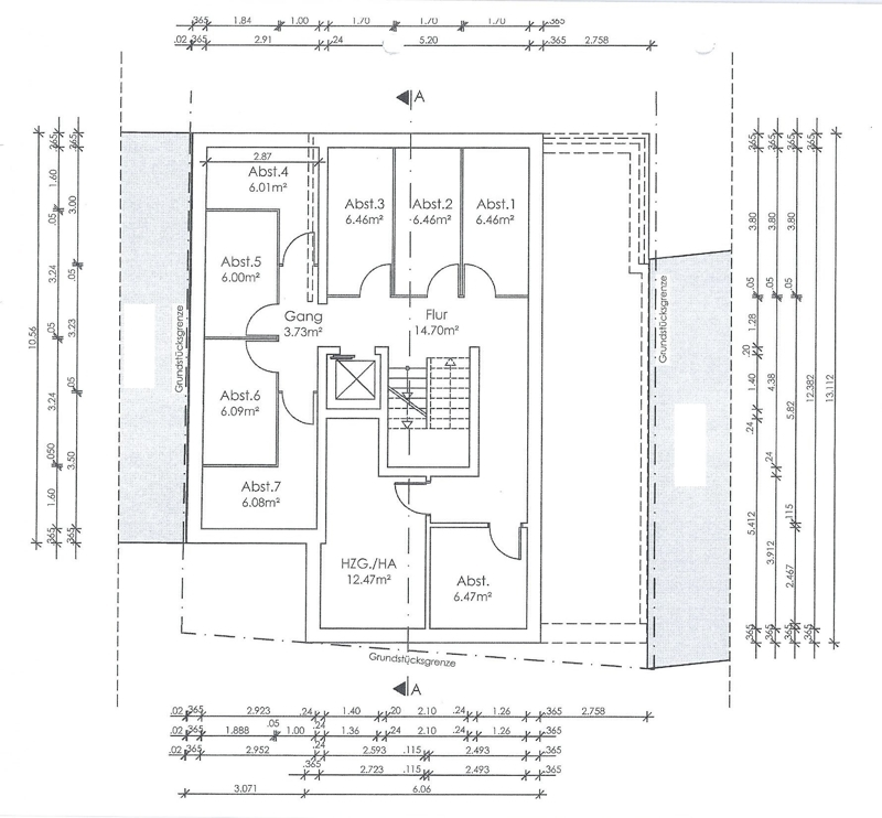 Entwurf Neubau Keller