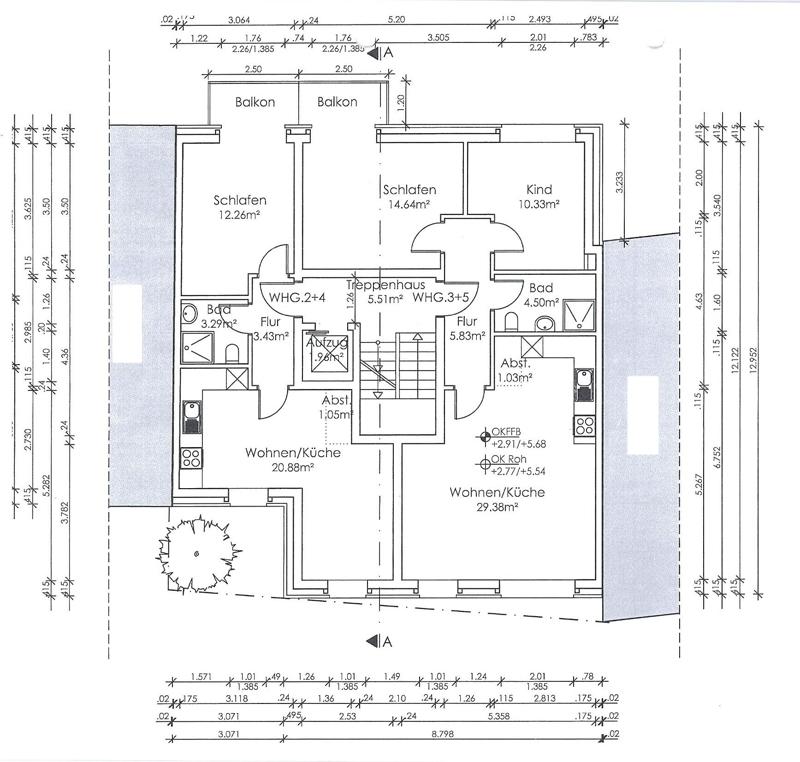 Entwurf Neubau 2. OG