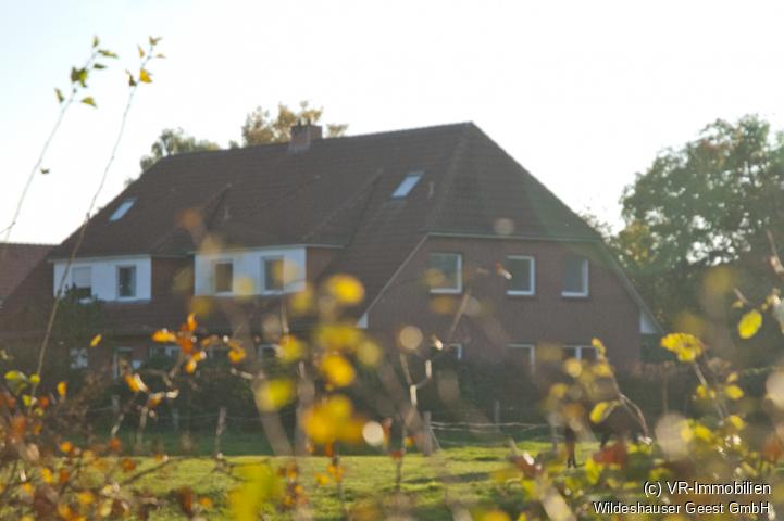 Blick auf das Haus.
