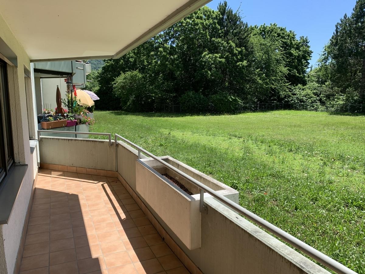 Eigentumswohnung mi Blick ins Grüne