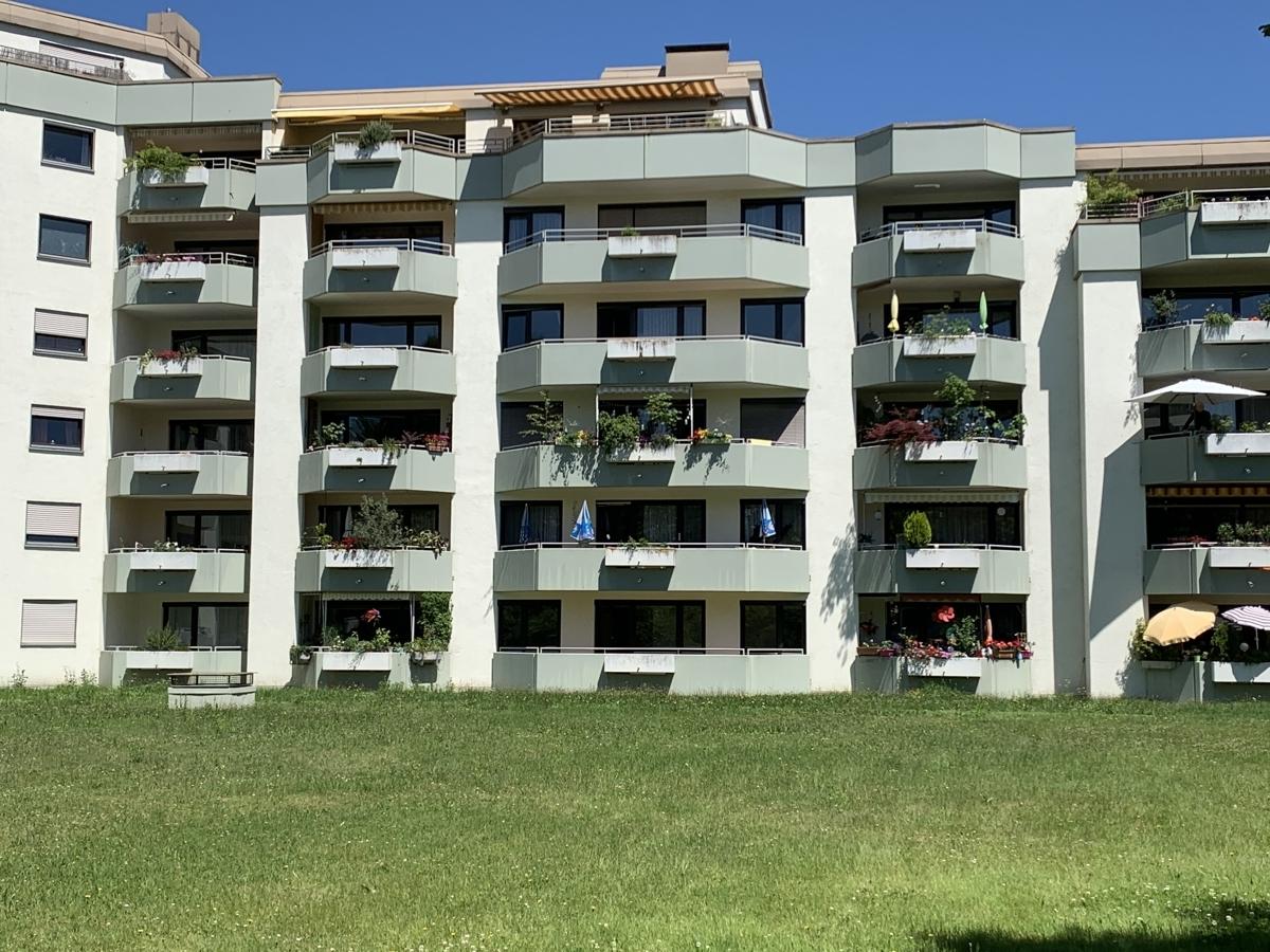 Blick auf die Wohnung