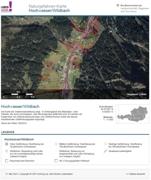 Gefahrenzonenplan Hochwasser und Wildbach
