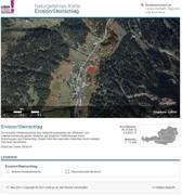 Gefahrenzonenplan Erosion und Steinschlag