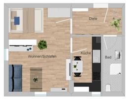 Grundriss Wohnung Nr.9