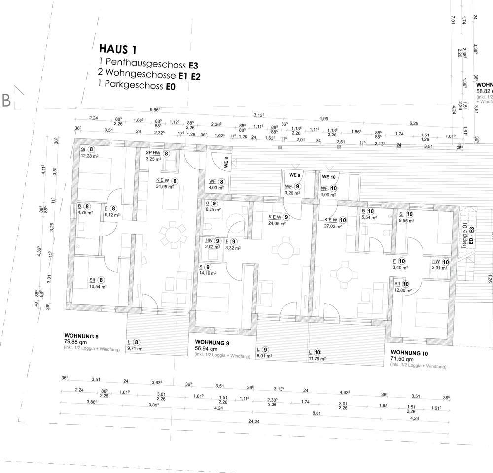 Haus 1 Ebene 2