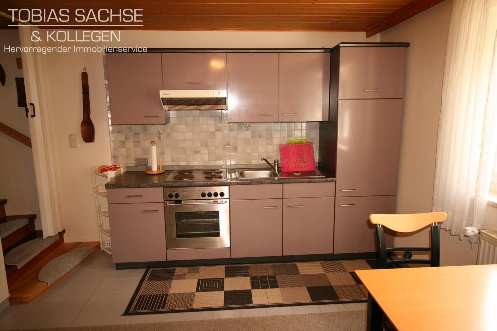 Ferienwohnung-Küche,Wohnbereich