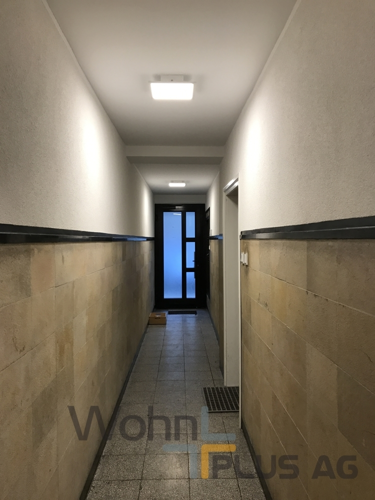 Hauseingang WohnPLUS AG