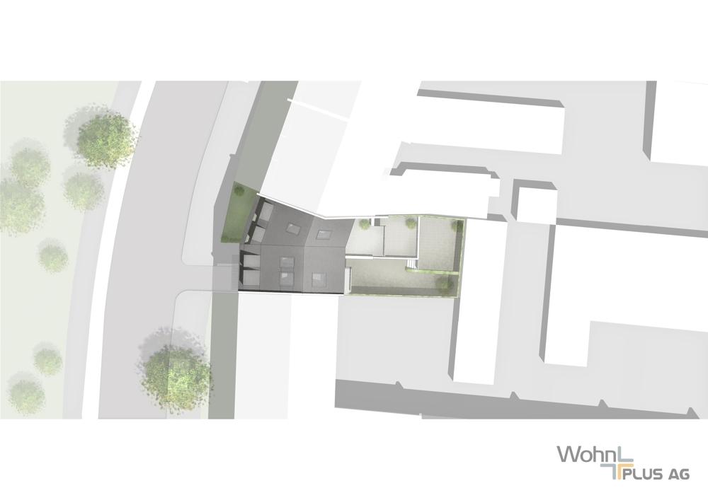 Lageplan WohnPLUS AG