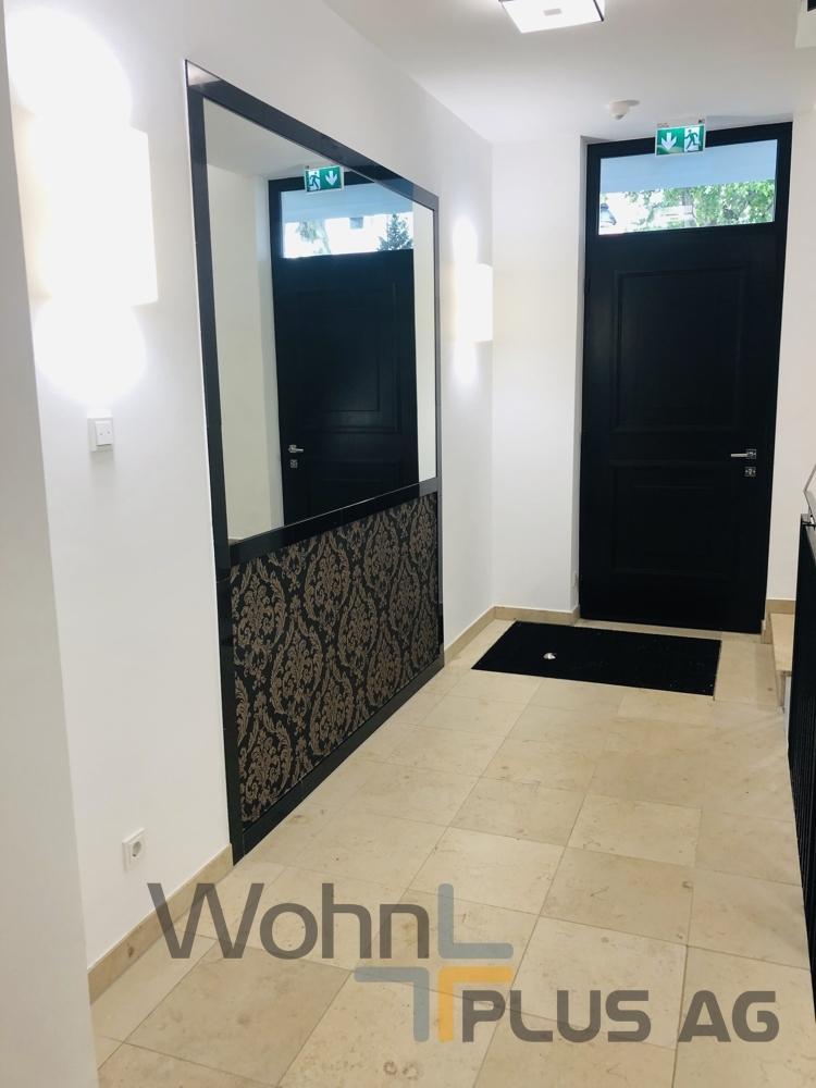 Eingangsbereich WohnPLUS AG