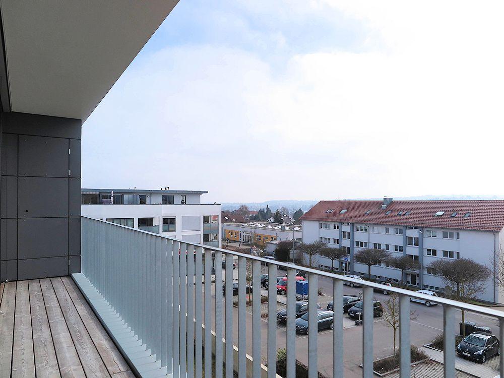 Balkon Ausblick