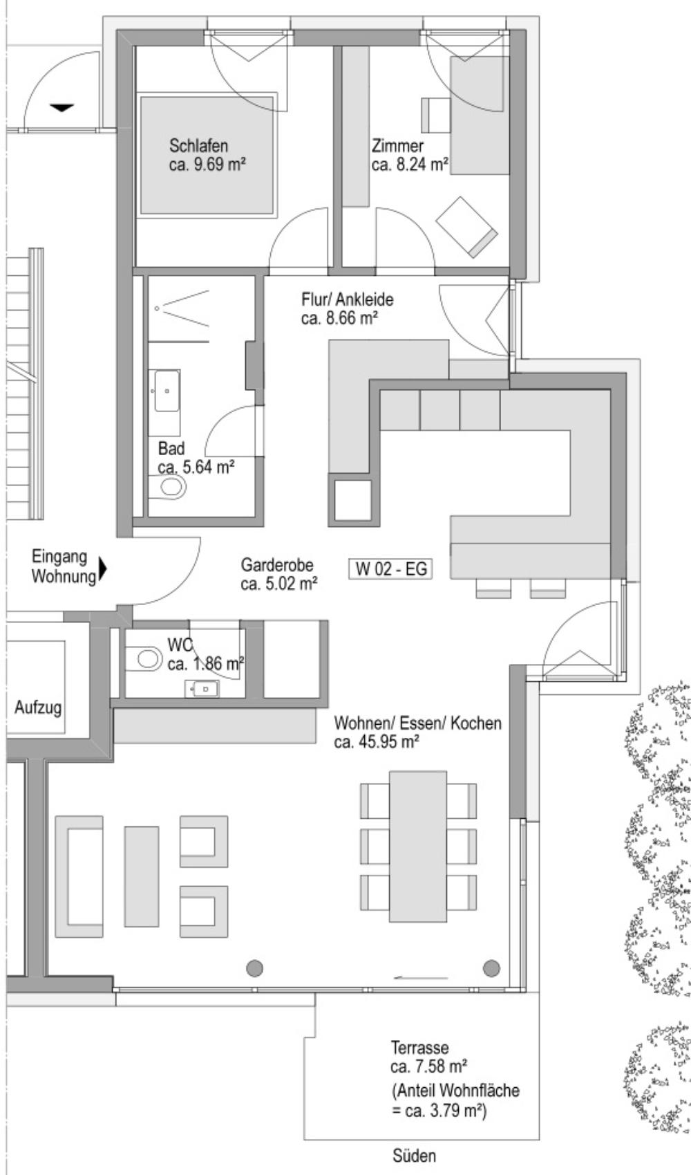 Grundriss Haus 12 W02