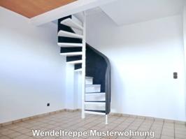 2065 Wendeltreppe Musterwohnung