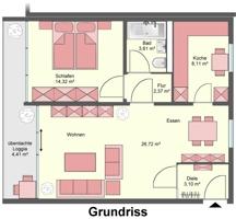 2861 Grundriss Wohnung