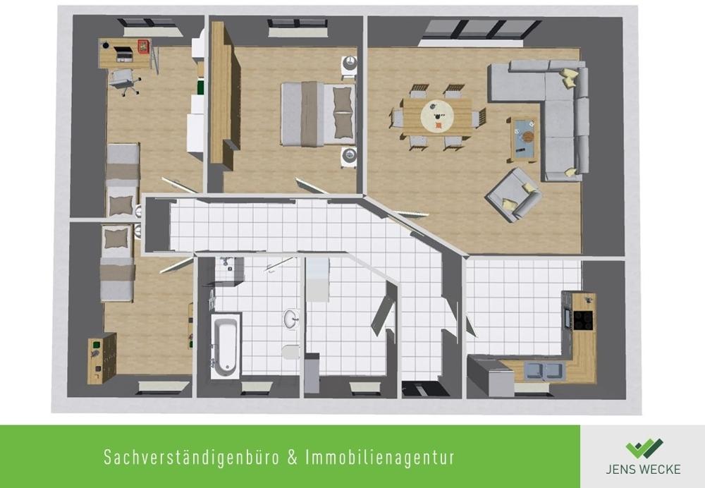 B 111 EG Raumgestaltung