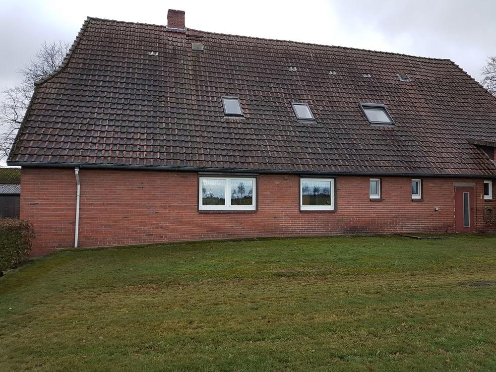 hintere Ansicht Wohnhaus