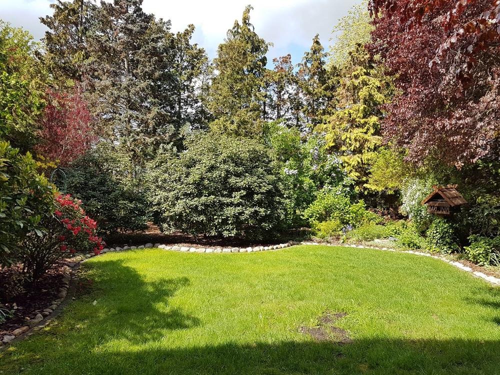 geschützter Garten