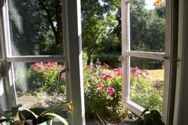 Blick in den Bauerngarten
