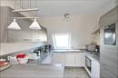 offene Küche im Dachgeschoss