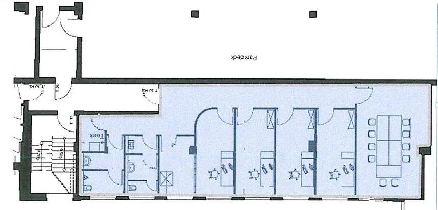Grundriss 1. OG rechts (ca. 150 m²)