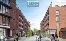 """Fußgängerpassage """"BraDo"""" (Visualisierung © bloomimages)"""
