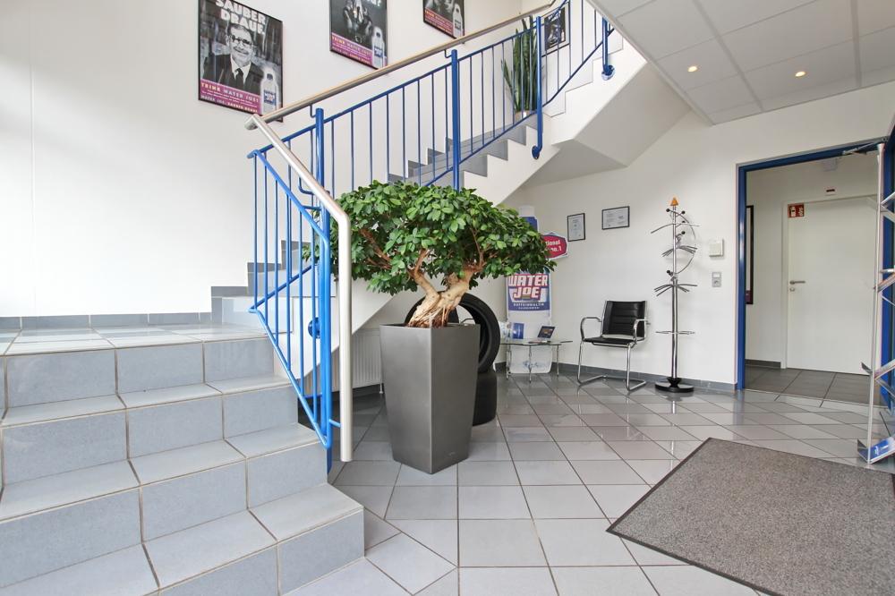 Treppenaufgang Büro