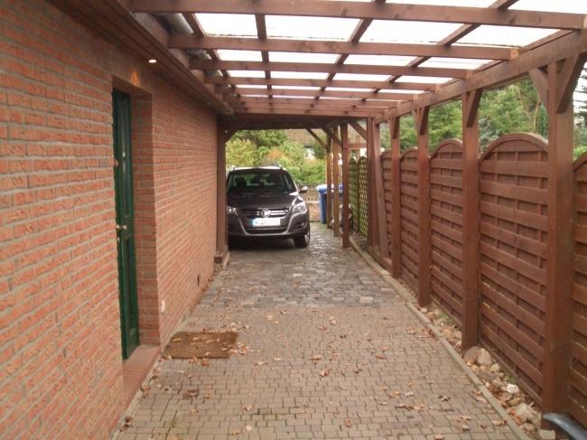Carport für 3 PKW