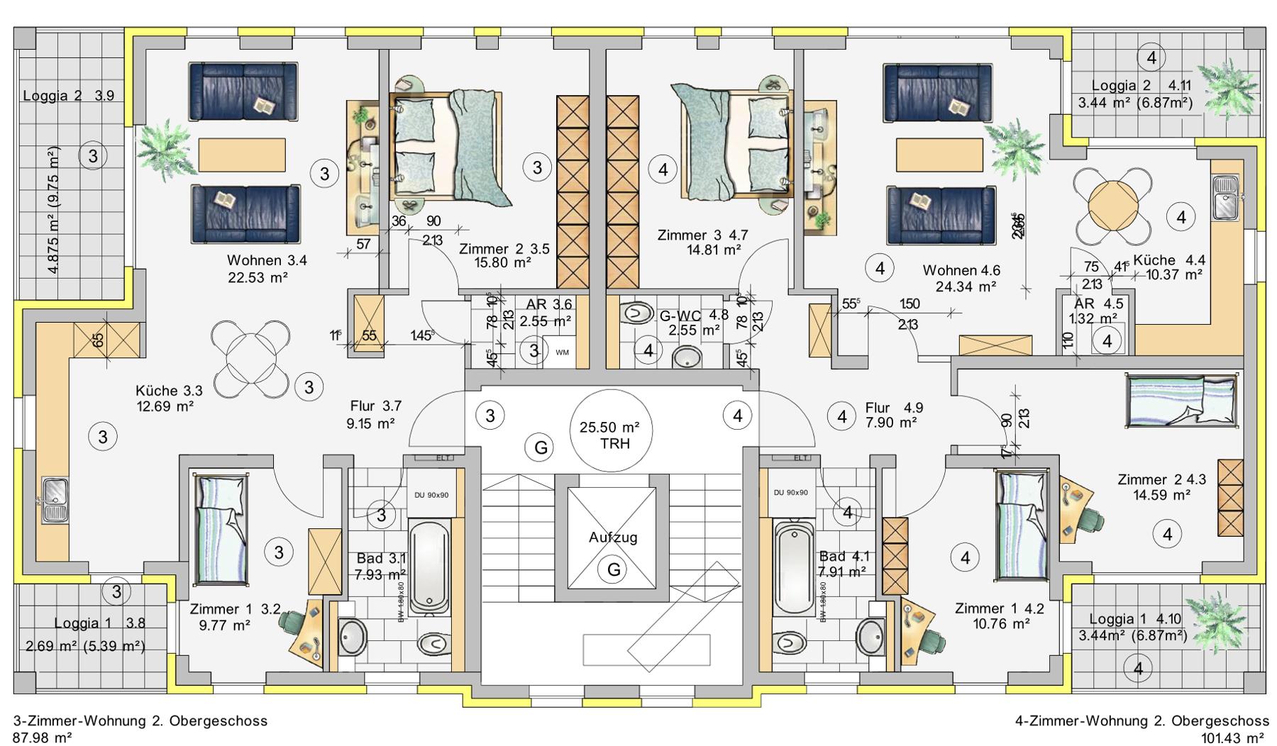 241-H2-OG2 Grdr Etage