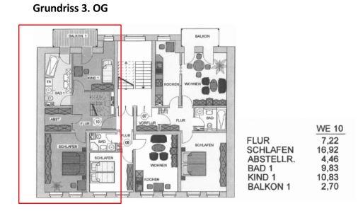 Grundriss 1 große Wohnung