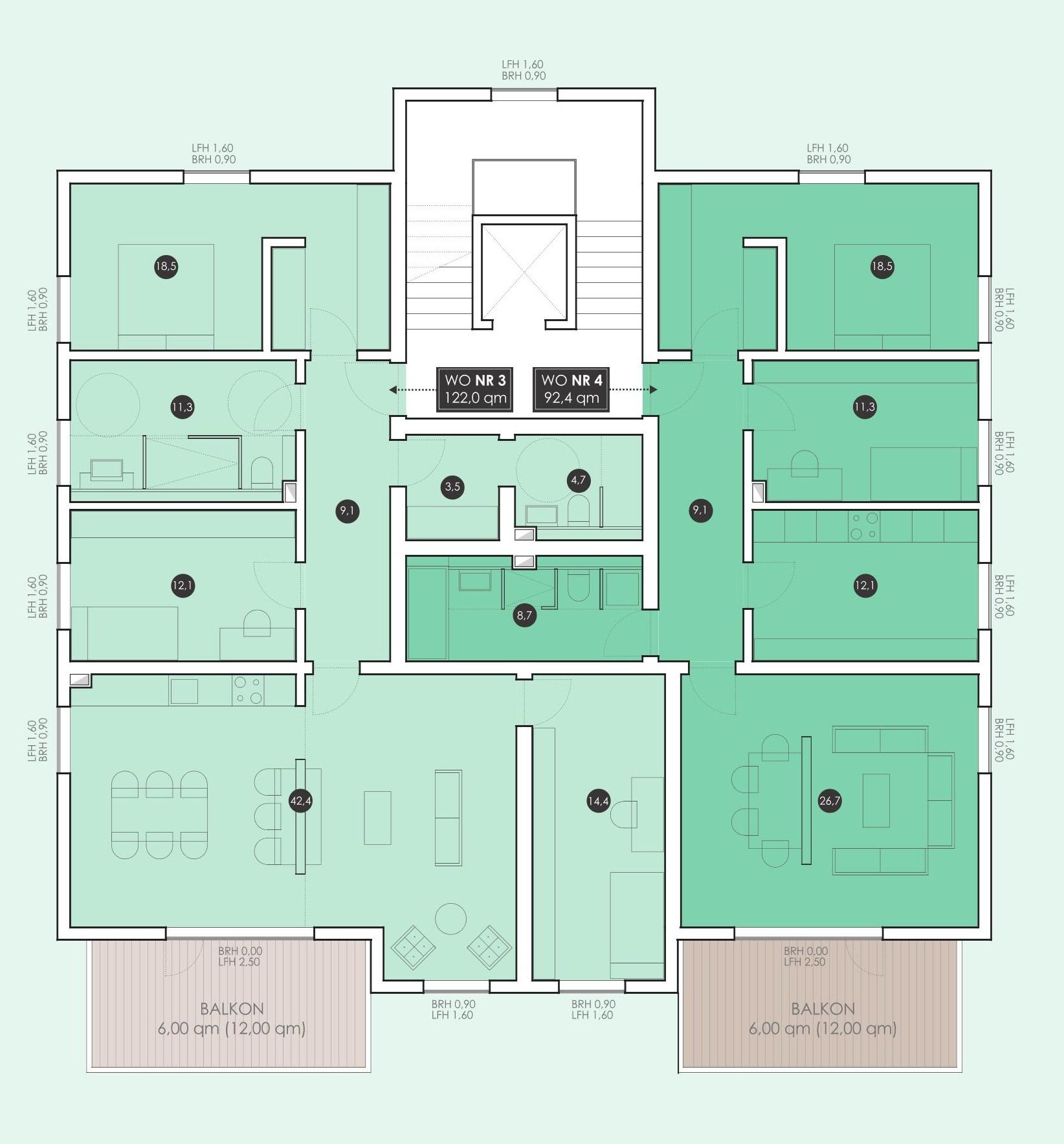 1. Obergeschoss groß