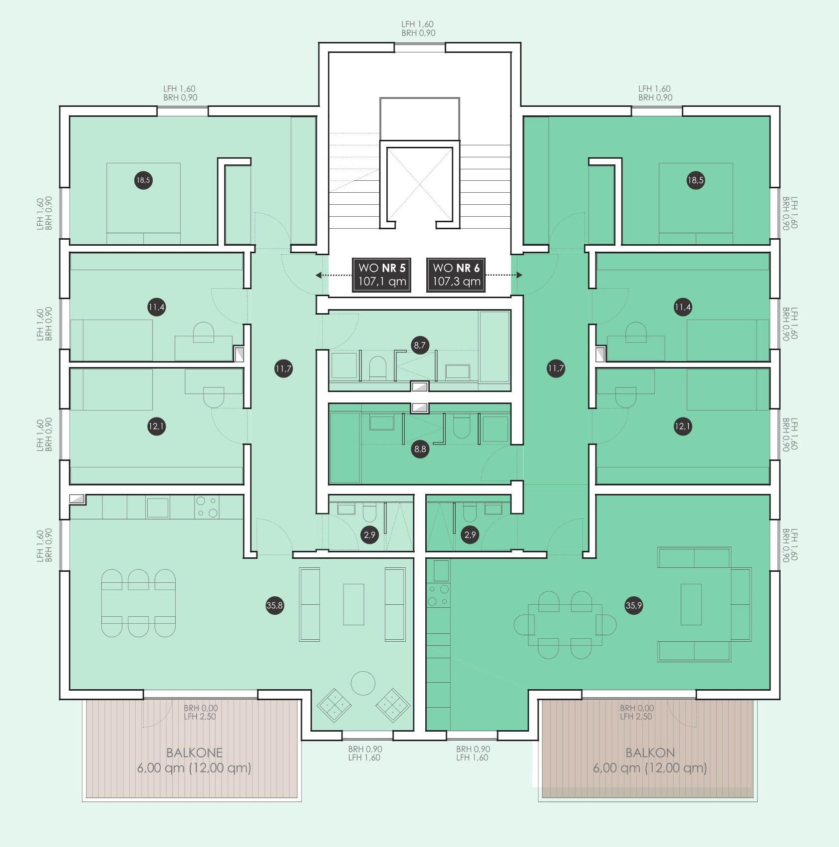 2. Obergeschoss groß