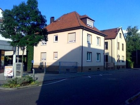 Gebäudeansicht von der Ludwigstrasse