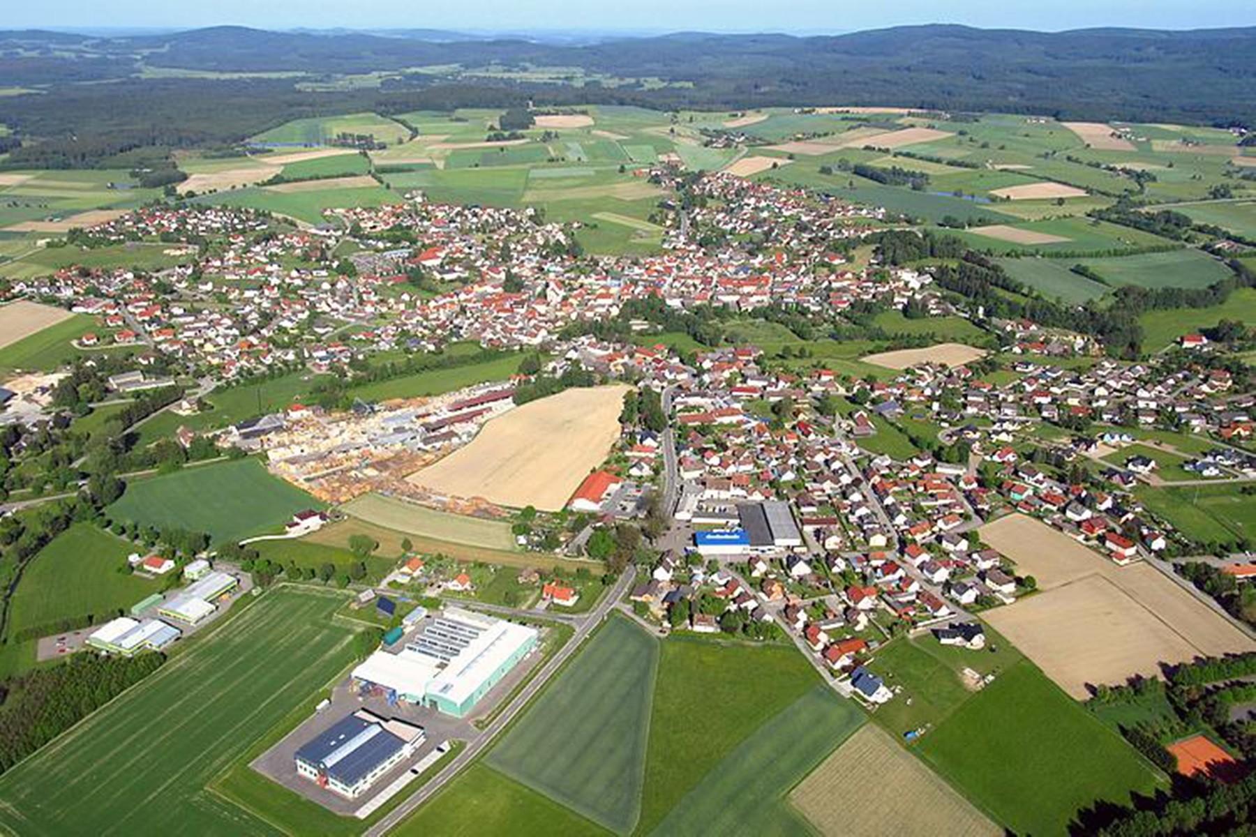 Umgebung-Luftbild