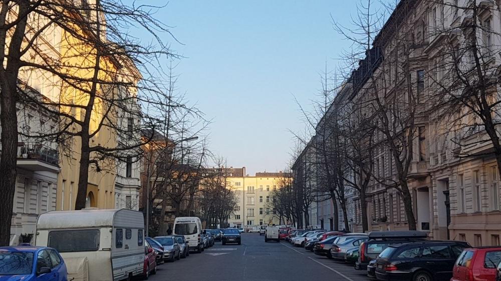Wartenburgstr. Ansicht Straße