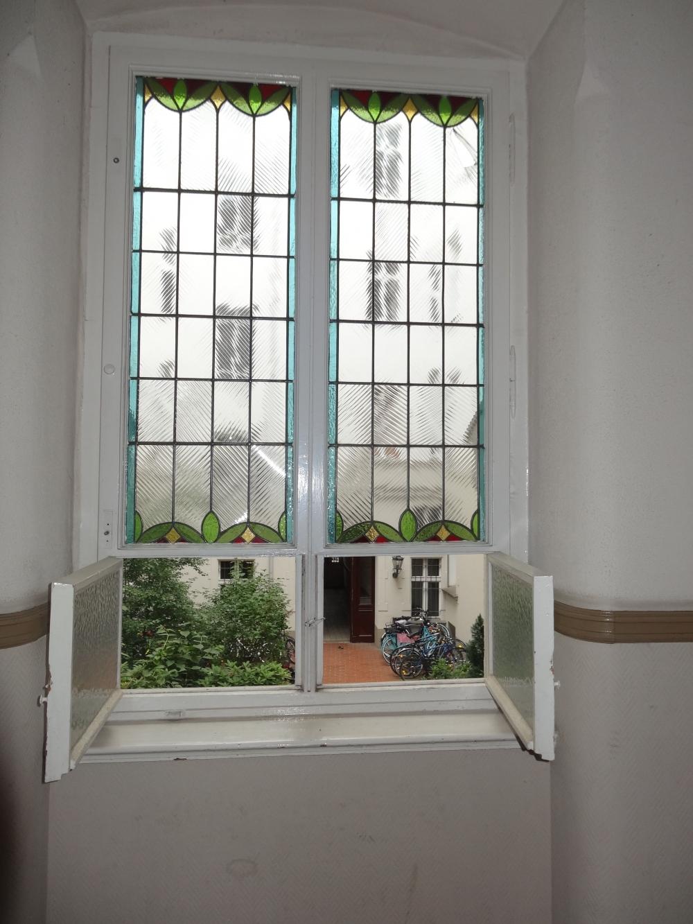 Fenster Treppenaufgang