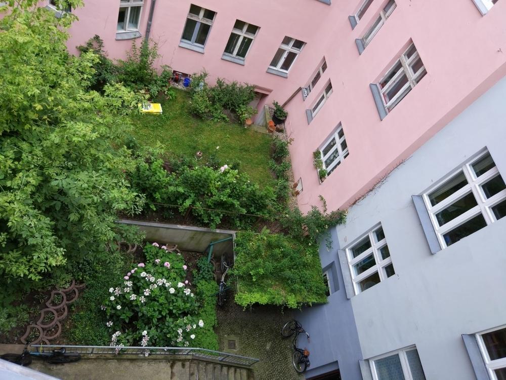 Innenhof - Ansicht von oben