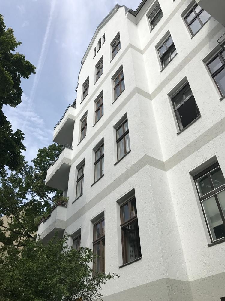 Sachsenwaldstr. 3 001 Neue Fassade