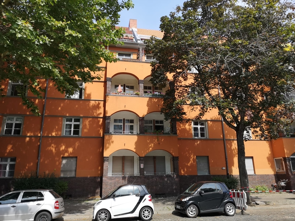 Fassade mit Loggien - größer