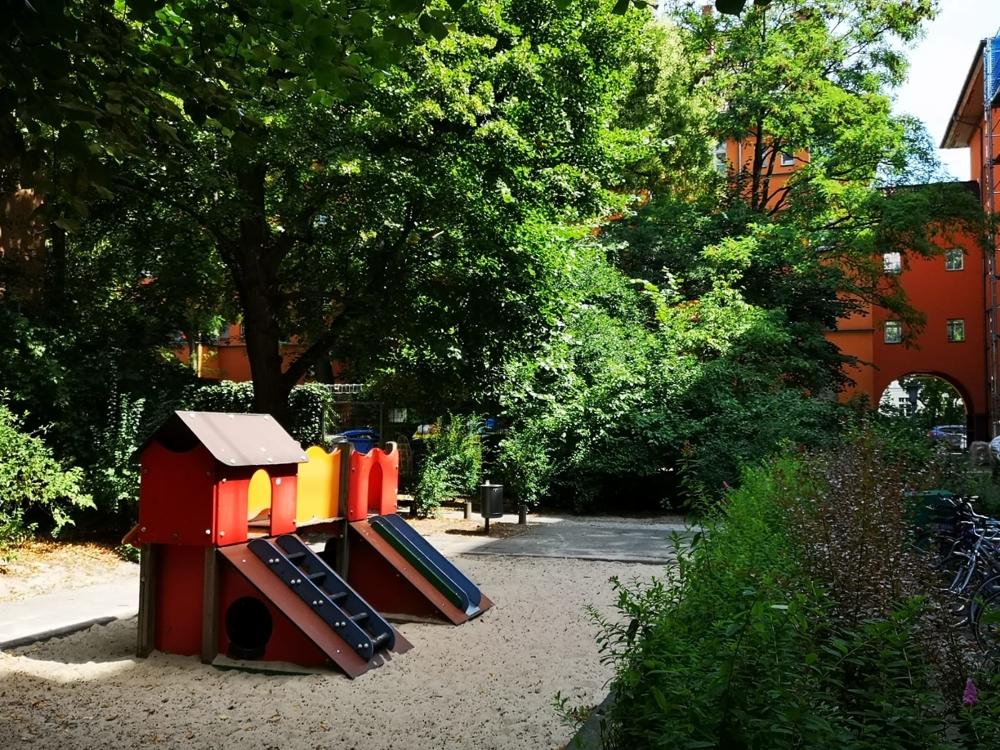 Spielplatz Innenhof