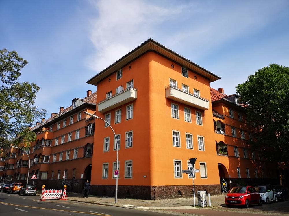 Eckgebäude Straßenecke Amrumerstr-Limburgerstr.