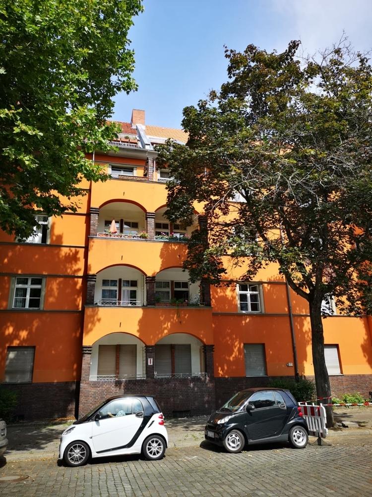 Fassade mit Loggien