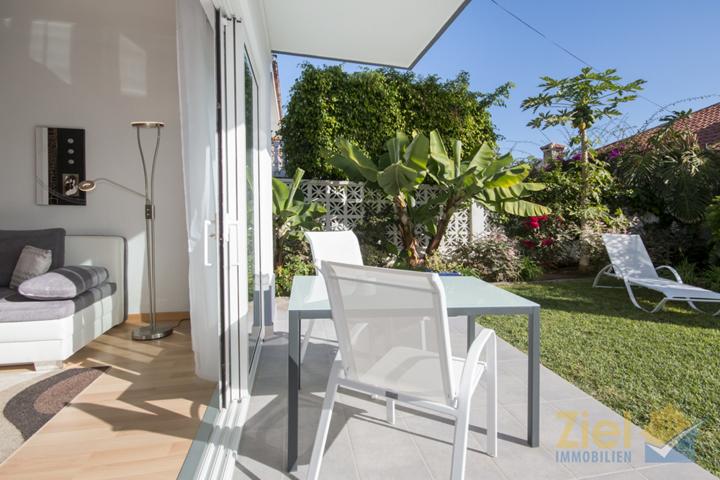 Terrassenzugang vom Wohnzimmer