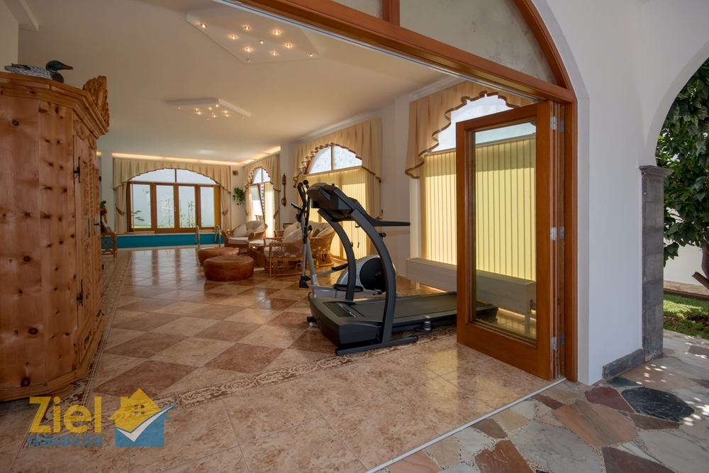 Fitness-Bereich des Hauses