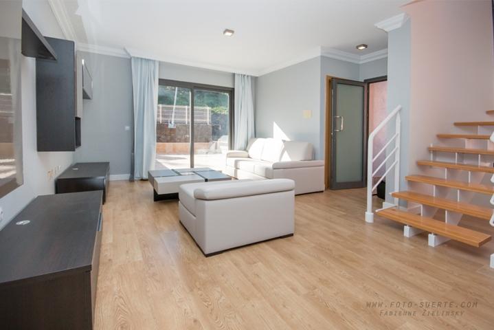 Wohnzimmer, ab morgens in der Sonne